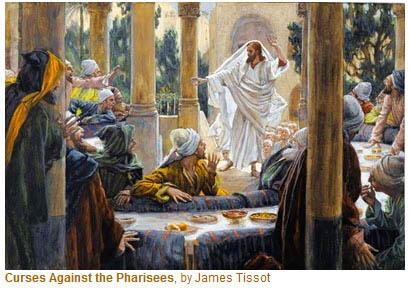 A Yahusha curses the pharisees