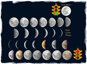 Lunar Phases 28 - white opti