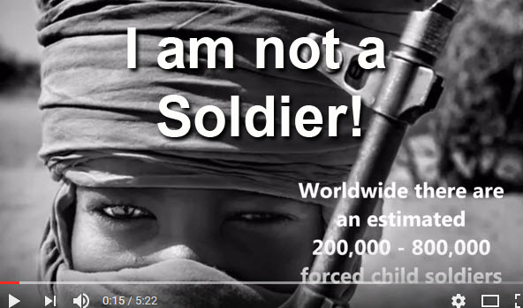 children are not soldiers