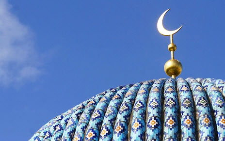crescent on roof