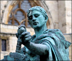 constantine-statue