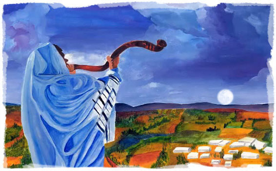 Blow With The New Moon Shofar Psalms 81 3