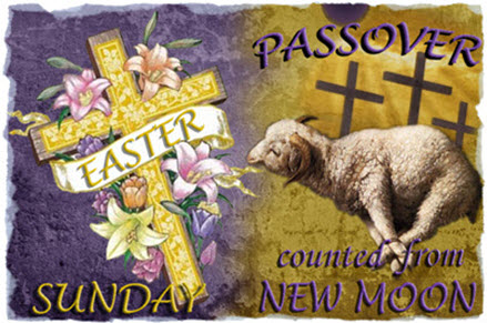 Passover changed to Easter