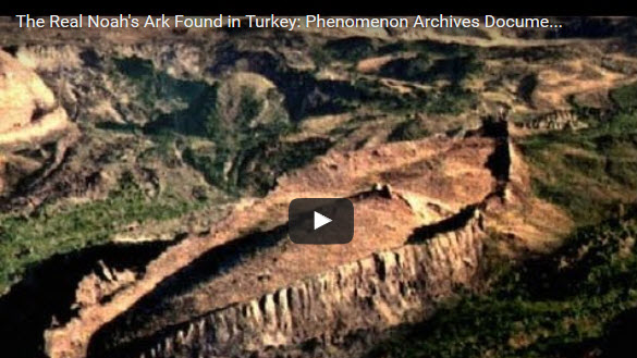 The Real Noahs Ark Found In Turkey